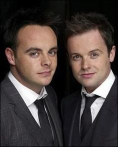Ant and Dec. Ant is so stunningly handsome. love them both to bits. Declan Donnelly, Ant & Dec, Robert Redford, Tv Presenters, Ants, Handsome, Ant
