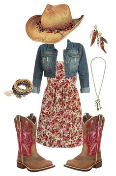 """Summer"" by sarahkayleej ❤ liked on Polyvore featuring WalG, Wet Seal, Ariat, Peter Grimm, Urban Outfitters, Pimkie and maurices"