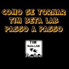 #TimBeta #MissaoBetaLab #BetaAjudaBeta