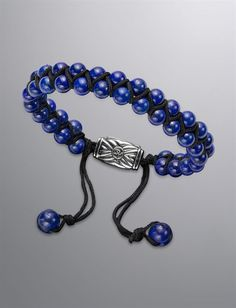 David Yurman   Men   Bracelets: Spiritual Bead Bracelet, Lapis