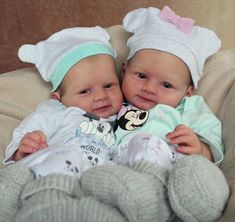 Marc & Mary Twin Reborn Reborn Doll Kits by Olga Auer