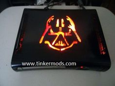 This is one of our fan favorite Xbox 360 case mods. The Darth Vader Xbox 360