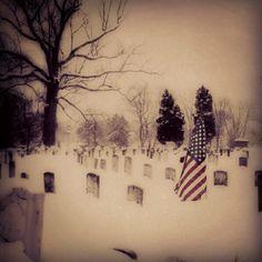 #Columbus' Green Lawn Cemetery in #winter