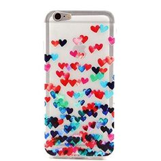 Brand New IPhone 6 clear case Brand new, never used IPhone 6 case. The brand is unknown. It is made of a soft silicone material and has a cute heart design. Accessories Phone Cases