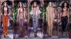 Milan Fashion Week: Roberto Cavalli Spring-Summer 2017 Collection
