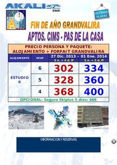 Fin de Año,  Grandvalira Ultimas Plazas ultimo minuto - http://zocotours.com/fin-de-ano-grandvalira-ultimas-plazas-ultimo-minuto/