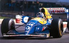 1993 Canon Williams FW15 Damon Hill