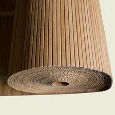 Bamboe lambrisering | bamboe strips op rol | Bambusa Diy Bedroom Decor, Wall Decor, Home Decor, Dressing Design, Wall Design, House Design, Slat Wall, Wood Slats, Interior Design Living Room