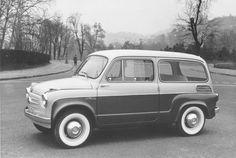 Fiat 600 Giardinetta Carrozzeria Viotti 1959