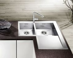 zerox 9E-IT Kitchen Basin, Kitchen Reno, Kitchen Cabinets, Corner Sink, Beach House, Patio, Interior Design, Manual, Kitchens