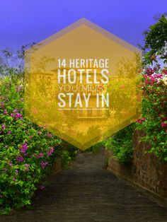 A heritage hotel is one which preserves its history while providing unfaltering luxury. Check out this list of 14 Heritage hotels that you must stay in. End Of The World, Travel Around The World, Around The Worlds, Heritage Hotel, Best Hotels, Luxury Hotels, Hotel Stay, Amazing Destinations, Luxury Travel