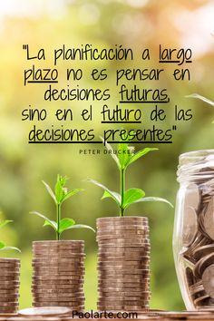 la planificación financiera es una herramienta que nos conduce de manera organizada a alcanzar nuestros objetivos a corto mediano y largo plazo Life Insurance, Reiki, Business Tips, Helpful Hints, Management, Education, Quotes, Home, Financial Planning