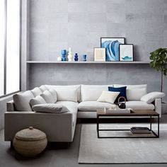 Harmony L-Shaped Sectional   west elm
