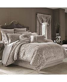 Donna Karan Home Moonscape Bedding Collection & Reviews - Bedding Collections - Bed & Bath - Macy's Full Comforter Sets, Grey Comforter, Bedding Sets, Bedding Storage, Bed Bath & Beyond, Queens New York, Lit Simple, Queen News, Luxury Bedding