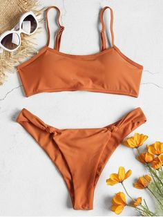 6329ceea50265 عقدة Bralette بيكيني مجموعة - يوسفي S Bralette Bikini, Bikini Set, Bikini  Swimwear,