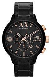 AX Armani Exchange Round Chronograph Bracelet Watch