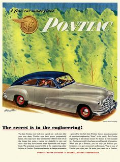 A Fine Car Made Finer | 1947 Pontiac. | Paul Malon | Flickr