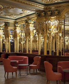 http://www.hotelcaferoyal.com/  1920's inspired