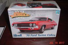 1970 Ford Torino Cobra 1/25 Revell 2006 85-2018 #Revell #Ford