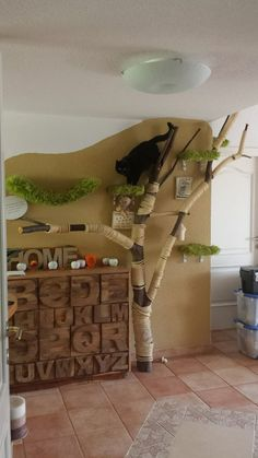 kratzbaum selbstgemacht katzen pinterest s k. Black Bedroom Furniture Sets. Home Design Ideas