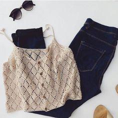 Cropped Crochet