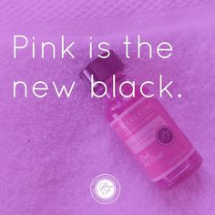 Pink is the new black.