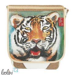 Tiger Tasche Malerei von Leolini - CreA(R)Tive design for you!