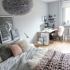 This is really cute. May I suggest a cream colored carpet? If that was added it would be perfect. On the empty wall, I would add my own artwork
