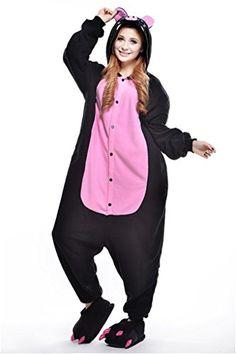 MCandy Unisex Adult Onesies Pajamas Pig Cartoon Party Costume XL -- Visit the image link more details.