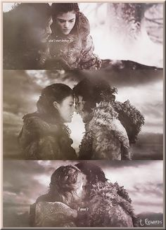 Jon & Ygritte #Game of Thrones