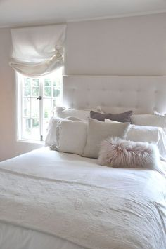 Pillows from Calypso Home, Restoration Hardware | flirty Matteo Tat Euro Shams