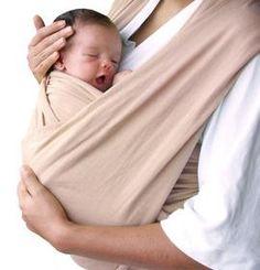 El portabebés facilita el desarrollo psicomotor de los niños