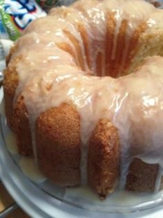 Louisiana Crunch Cake - the texture is soo nice  rich  moist. One of my all time favorite southern classic desserts