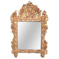 Fine 18th C. Italian Giltwood Mirror - Antique Mirrors - Legacy Antiques
