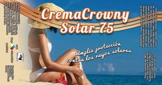 Crema Solar 75 que ayuda a proteger tu piel de los daños solares, con rápida absorción ¡Pruébalo ya!