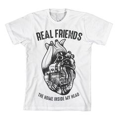 Home In My Head White - Real Friends