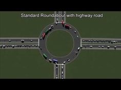 Traffic flow measured on 30 different 4-way junctions - YouTube