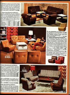 1972 Quelle 483 Couch