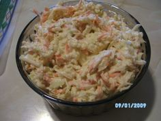 salata cruditati-coleslaw - imagine 1 mare Coleslaw, Potato Salad, Recipies, Potatoes, Cooking, Ethnic Recipes, Food, Fine Dining, Salads