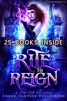 urban fantasy / paranormal royal witch box set 25 books 99c