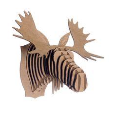 Fred Cardboard Moose Head $15.00