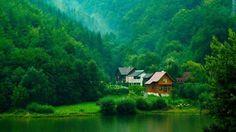 Dream house in Transylvania, Romania