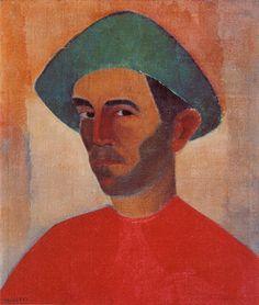 1902 - Giuseppe Giannini Pancetti, mais conhecido como José Pancetti (Campinas, 18 de junho de 1902 — Rio de Janeiro, 10 de fevereiro de 1958), foi um pintor modernista brasileiro. Considerado um dos grandes paisagistas da pintura nacional. Destaca-se por suas numerosas e belas marinhas Auto retrato