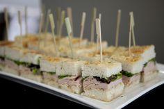 Good idea for mini-sandwhiches!
