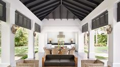 Consejos para decorar con techos oscuros