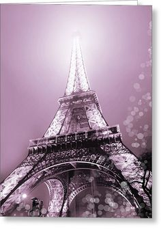 Pink Eiffel Tower Paris Photograph by Evie Carrier