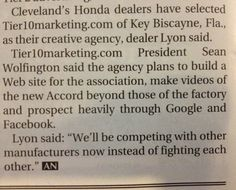 Honda Dealers Cleveland >> 11 Best Honda Dealer Marketing And Advertising Images
