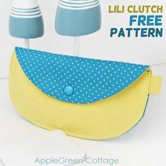 4974ec21a5c Purse Patterns Free, Bag Patterns To Sew, Free Pattern, Apron Patterns,  Pattern