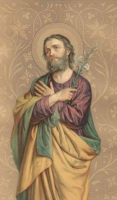 St. Joseph. A beautiful example of masculinity and fatherhood and a personal patron of mine:
