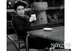 Shin Ha Kyun - Singles Magazine March Issue '15